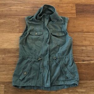 Jackets & Blazers - Green vest
